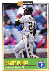 1993 Duracell Power Players I #17 Barry Bonds