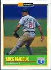 1993 Duracell Power Players II #12 Greg Maddux