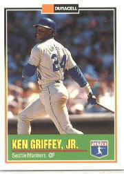 1993 Duracell Power Players II #15 Ken Griffey Jr.