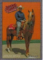 1993 Ryan Whataburger #1 Nolan Ryan/On horse