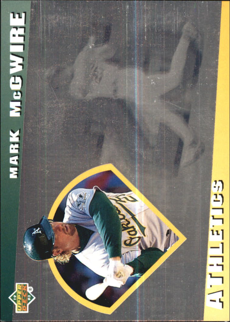1993 Upper Deck Diamond Gallery #3 Mark McGwire