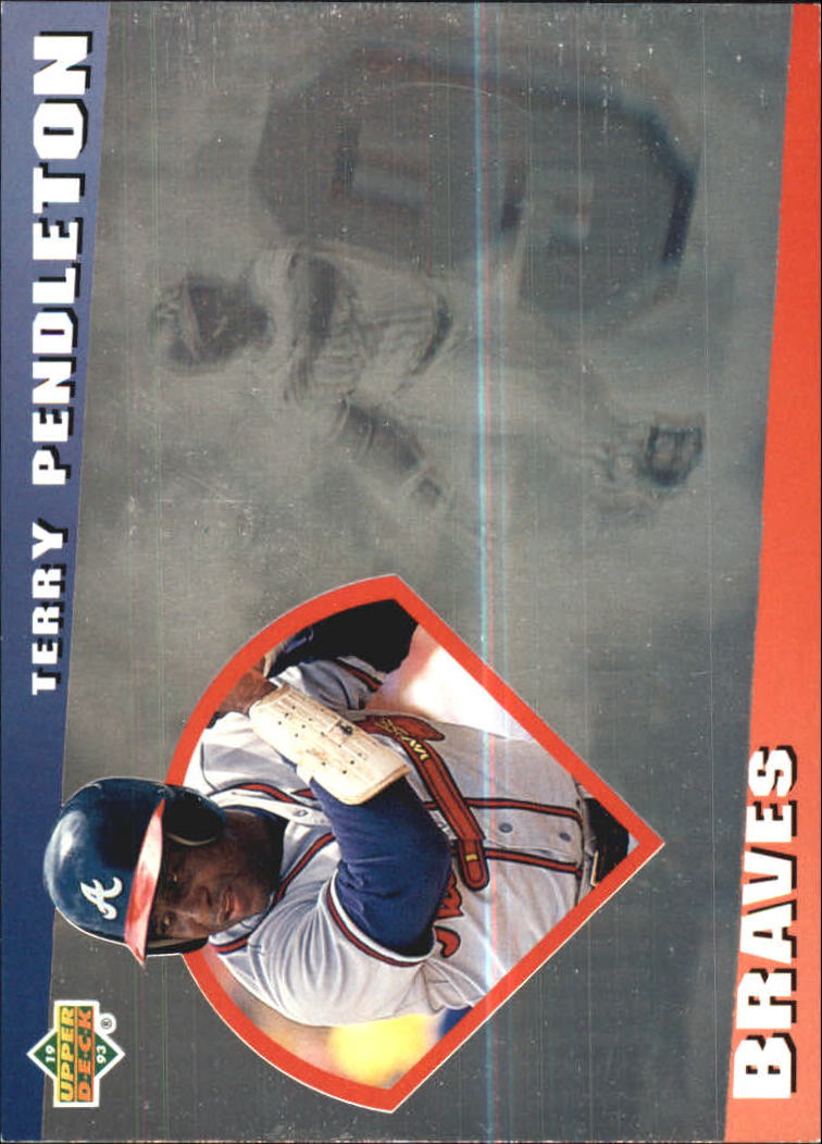 1993 Upper Deck Diamond Gallery #5 Terry Pendleton