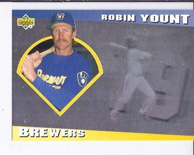 1993 Upper Deck Diamond Gallery #6 Robin Yount