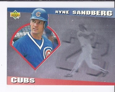 1993 Upper Deck Diamond Gallery #8 Ryne Sandberg