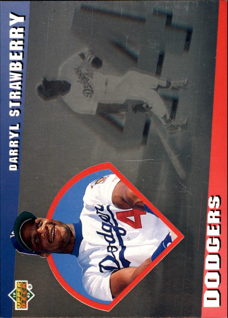 1993 Upper Deck Diamond Gallery #9 Darryl Strawberry