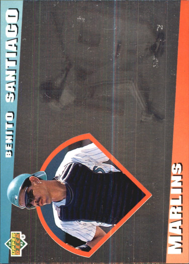 1993 Upper Deck Diamond Gallery #14 Benito Santiago
