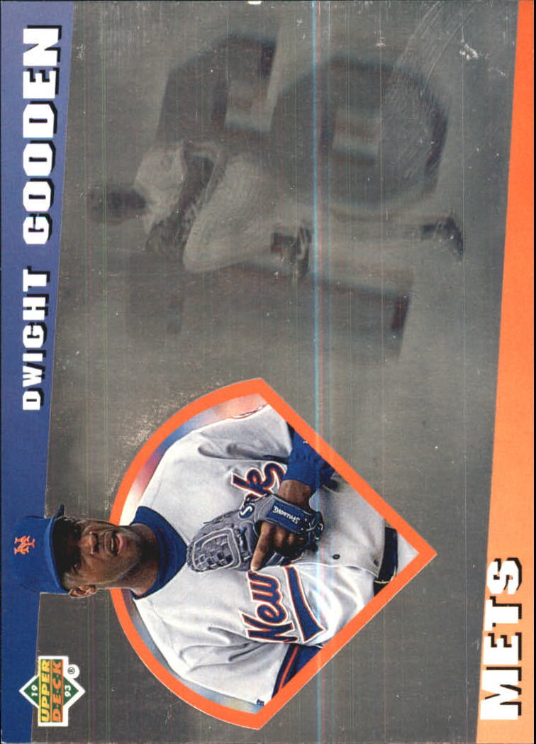 1993 Upper Deck Diamond Gallery #15 Dwight Gooden