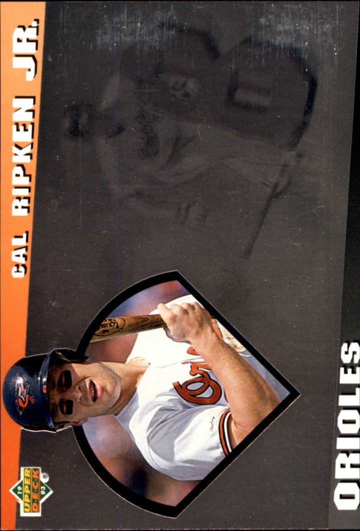 1993 Upper Deck Diamond Gallery #16 Cal Ripken