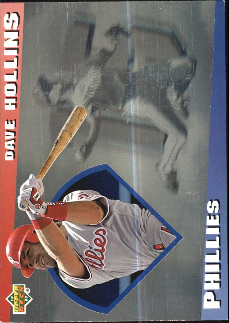 1993 Upper Deck Diamond Gallery #18 Dave Hollins