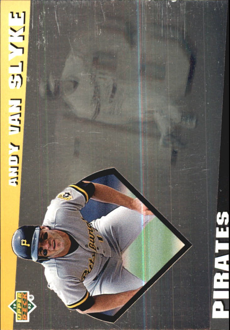 1993 Upper Deck Diamond Gallery #19 Andy Van Slyke