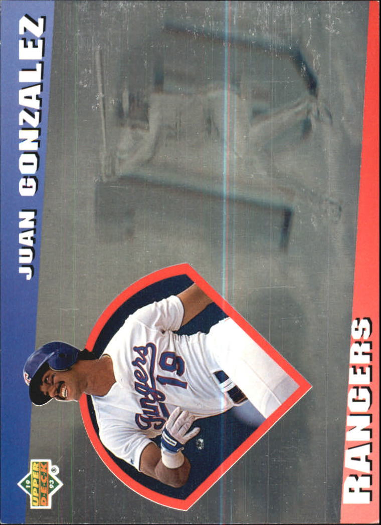 1993 Upper Deck Diamond Gallery #20 Juan Gonzalez