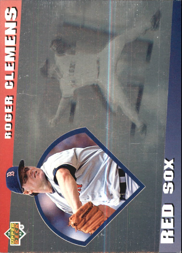 1993 Upper Deck Diamond Gallery #21 Roger Clemens