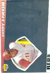 1993 Upper Deck Diamond Gallery #22 Barry Larkin