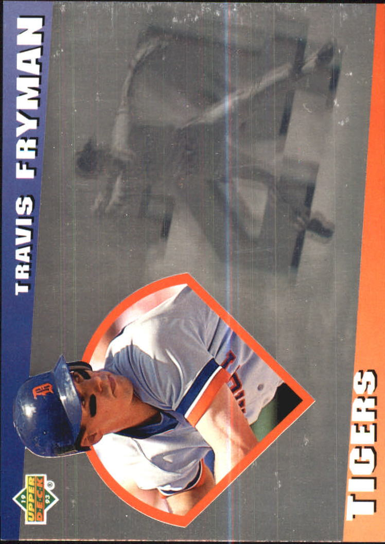 1993 Upper Deck Diamond Gallery #25 Travis Fryman