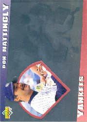 1993 Upper Deck Diamond Gallery #28 Don Mattingly