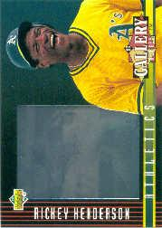 1993 Upper Deck Diamond Gallery #29 Rickey Henderson