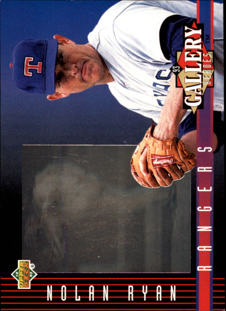 1993 Upper Deck Diamond Gallery #30 Nolan Ryan