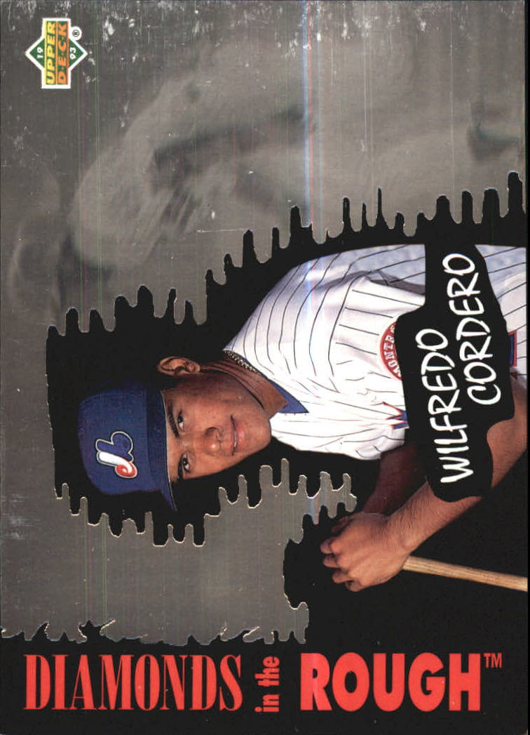 1993 Upper Deck Diamond Gallery #32 Wil Cordero
