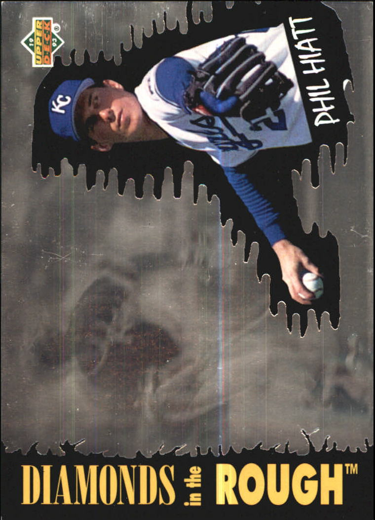 1993 Upper Deck Diamond Gallery #33 Phil Hiatt