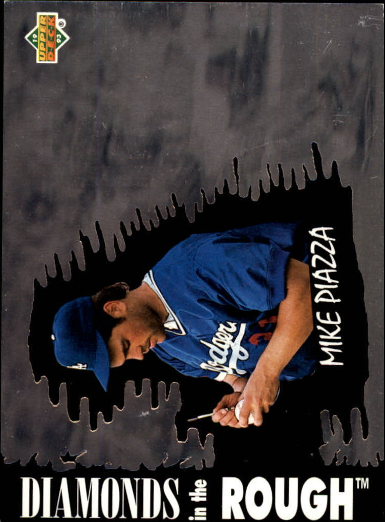 1993 Upper Deck Diamond Gallery #34 Mike Piazza