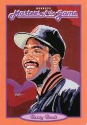 1993 Donruss Masters of the Game #14 Barry Bonds