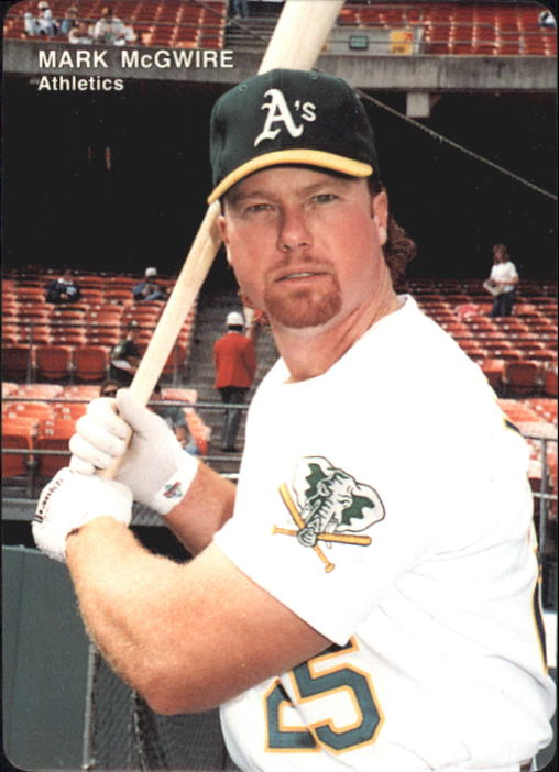 1993 A's Mother's #2 Mark McGwire