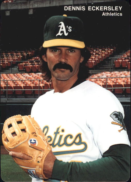 1993 A's Mother's #4 Dennis Eckersley
