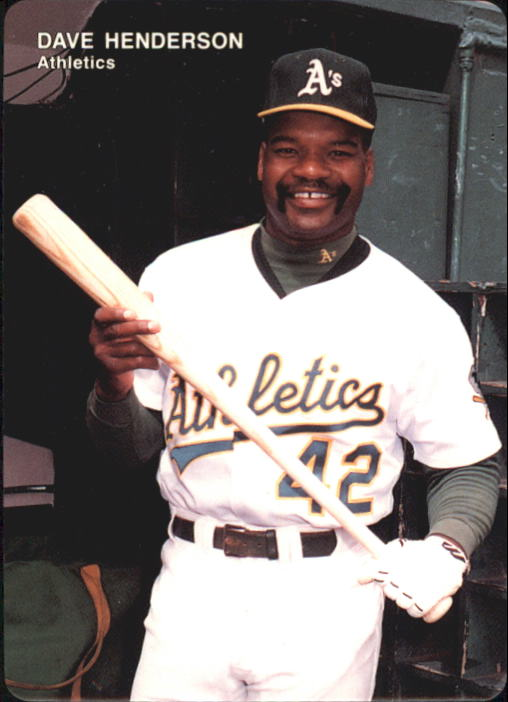 1993 A's Mother's #9 Dave Henderson