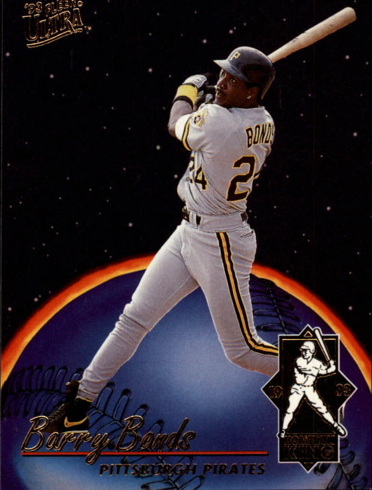 1993 Ultra Home Run Kings #6 Barry Bonds