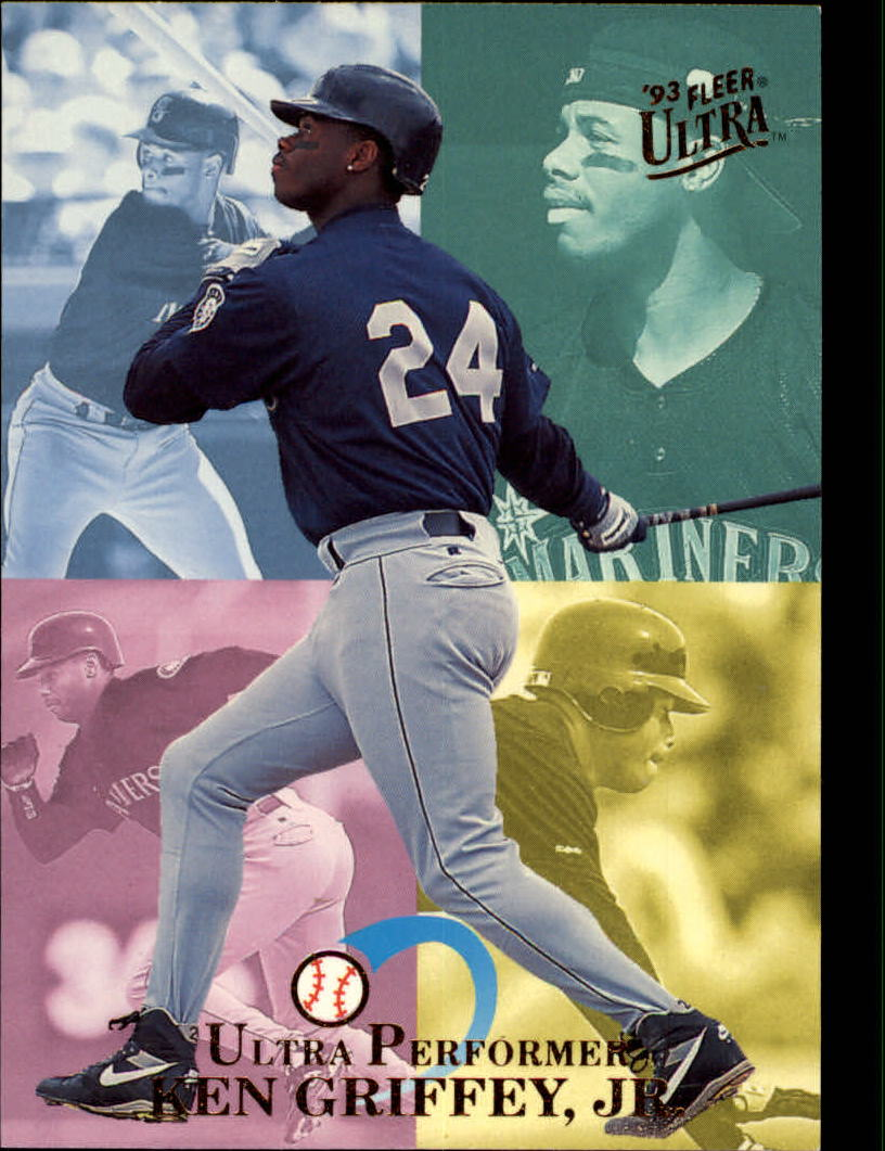 1993 Ultra Performers #3 Ken Griffey Jr.