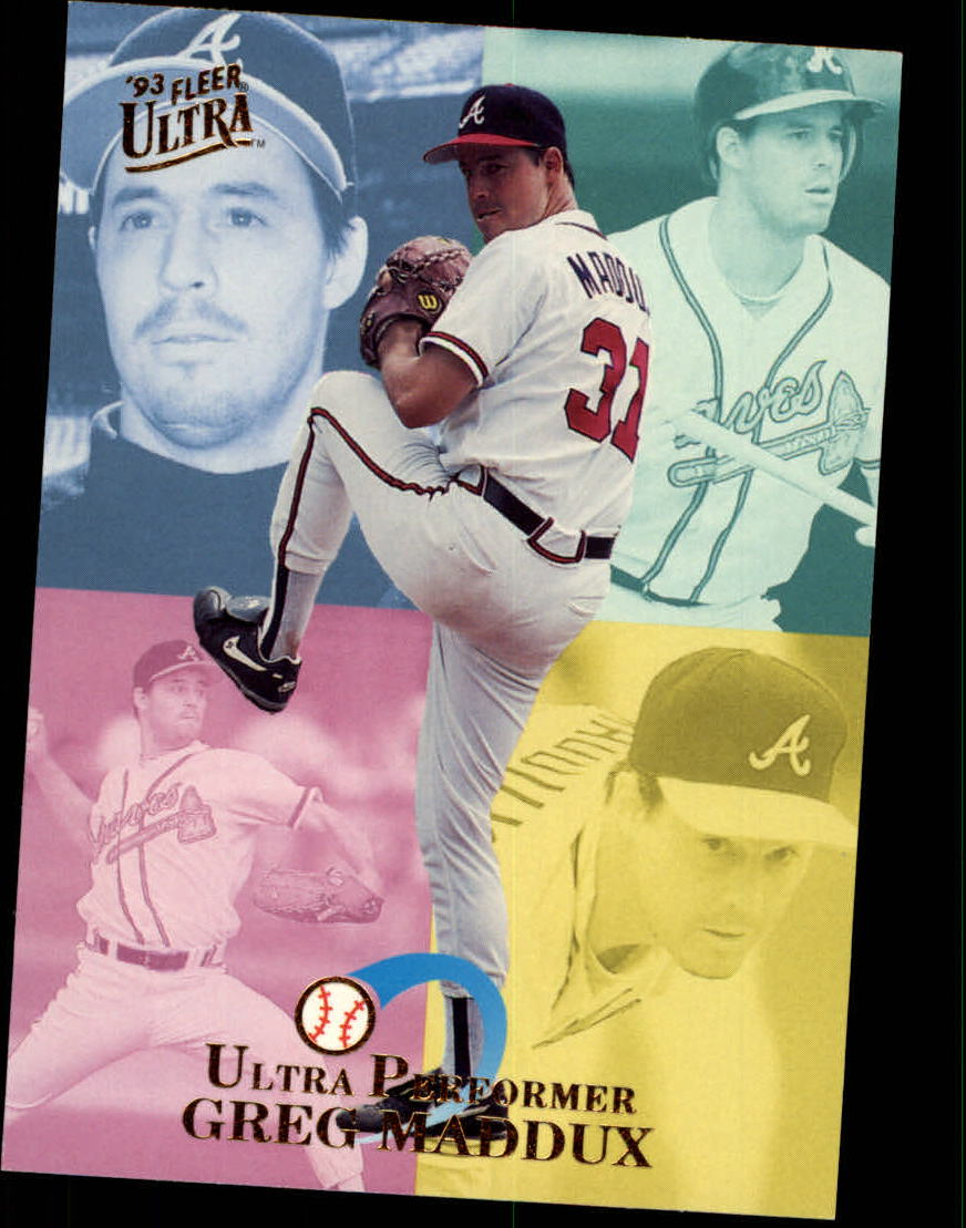 1993 Ultra Performers #6 Greg Maddux