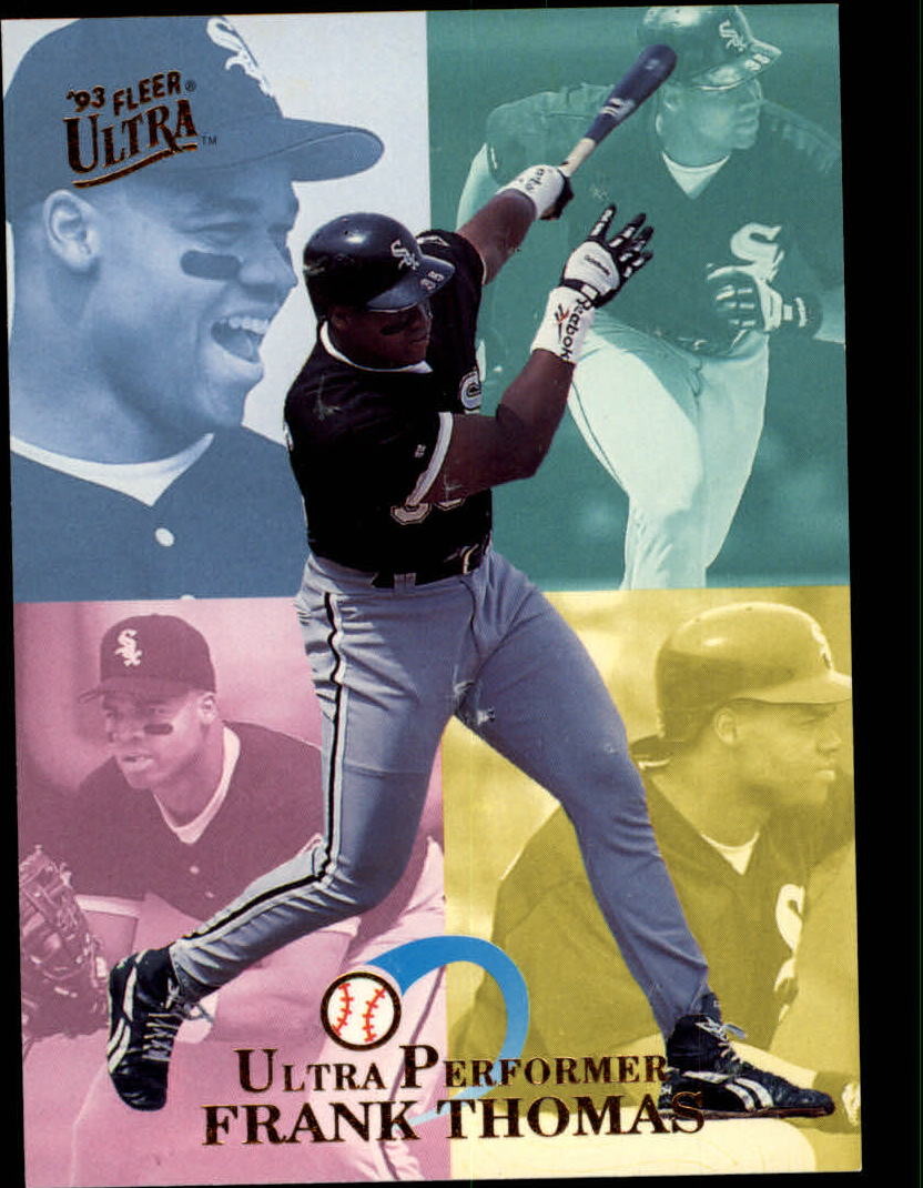 1993 Ultra Performers #10 Frank Thomas