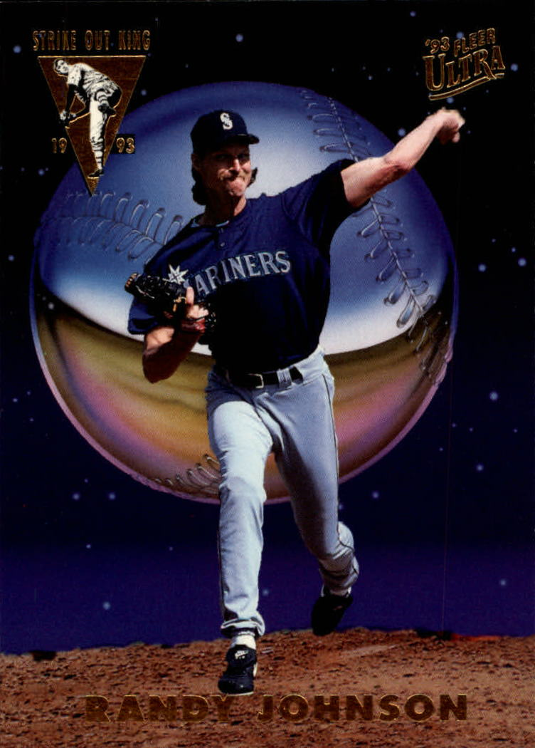1993 Ultra Strikeout Kings #3 Randy Johnson