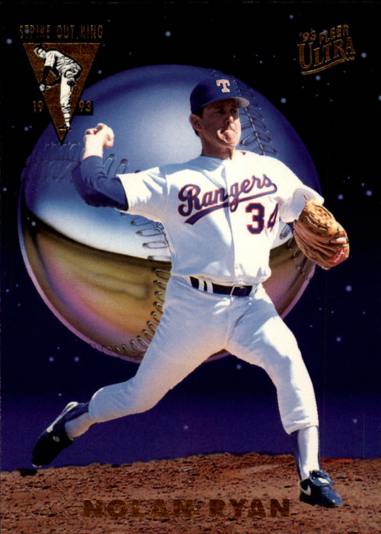 1993 Ultra Strikeout Kings #4 Nolan Ryan