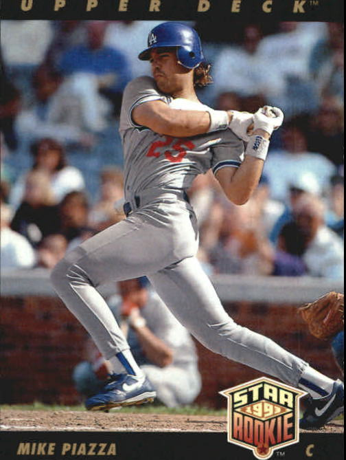 1993 Upper Deck #2 Mike Piazza
