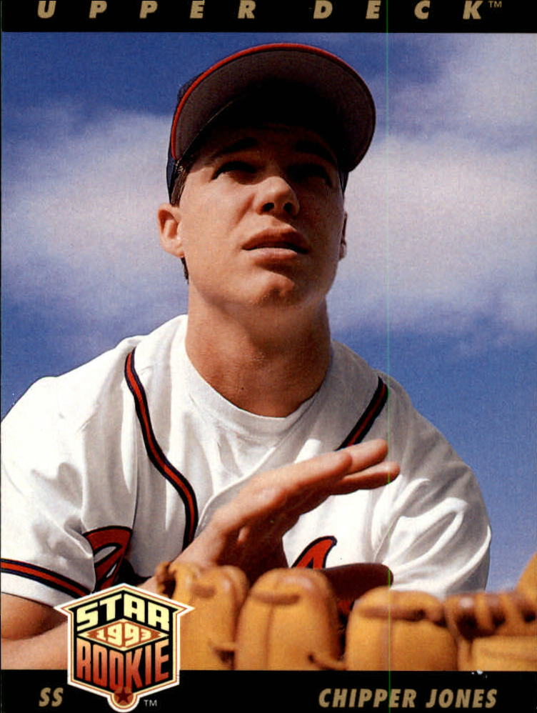 1993 Upper Deck #24 Chipper Jones