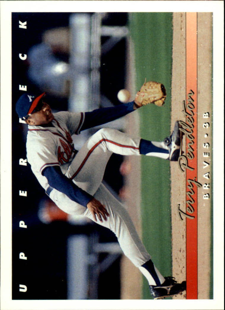 1993 Upper Deck #163 Terry Pendleton
