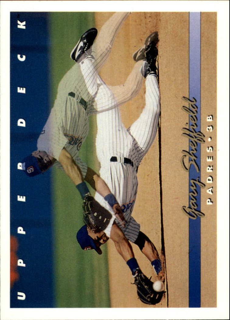 1993 Upper Deck #222 Gary Sheffield 2X