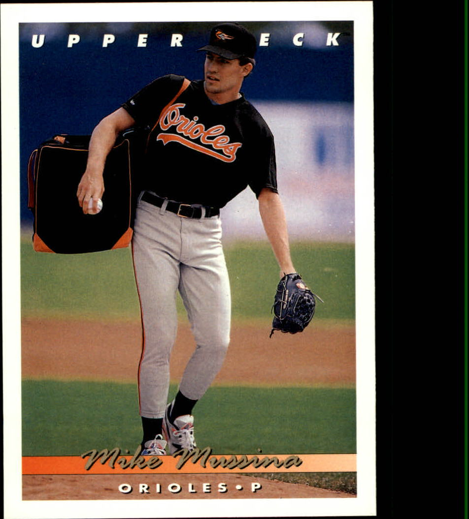 1993 Upper Deck #233 Mike Mussina