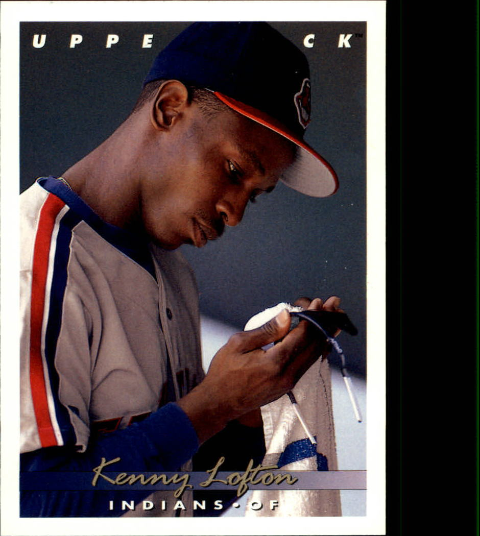 1993 Upper Deck #262 Kenny Lofton