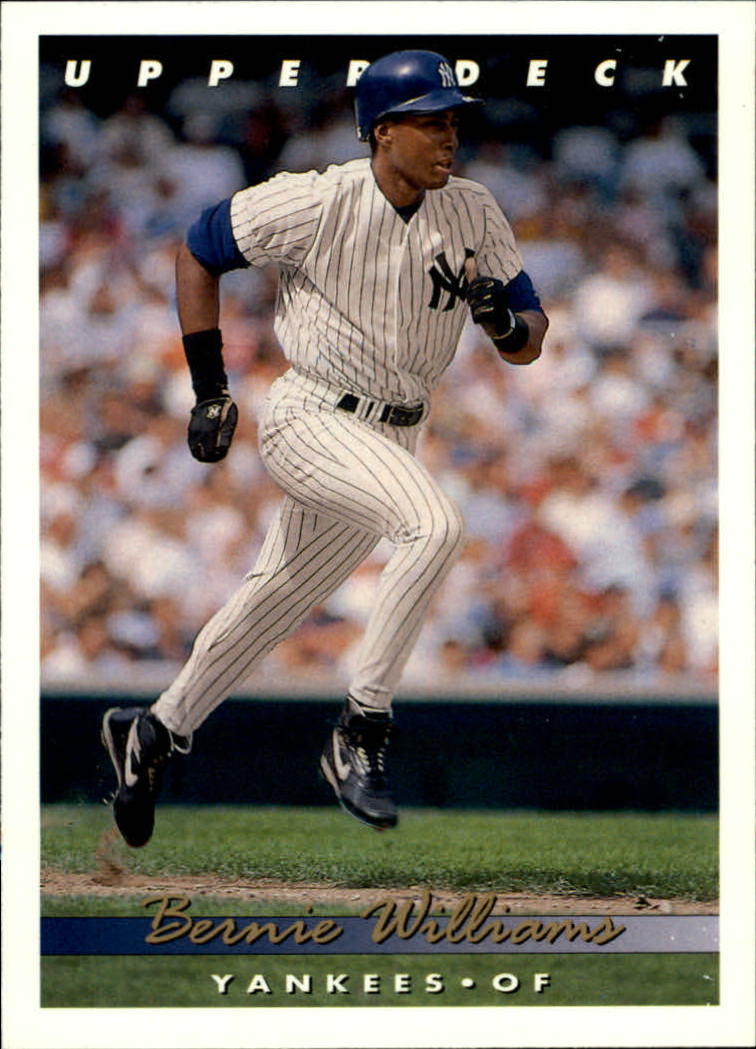1993 Upper Deck #332 Bernie Williams