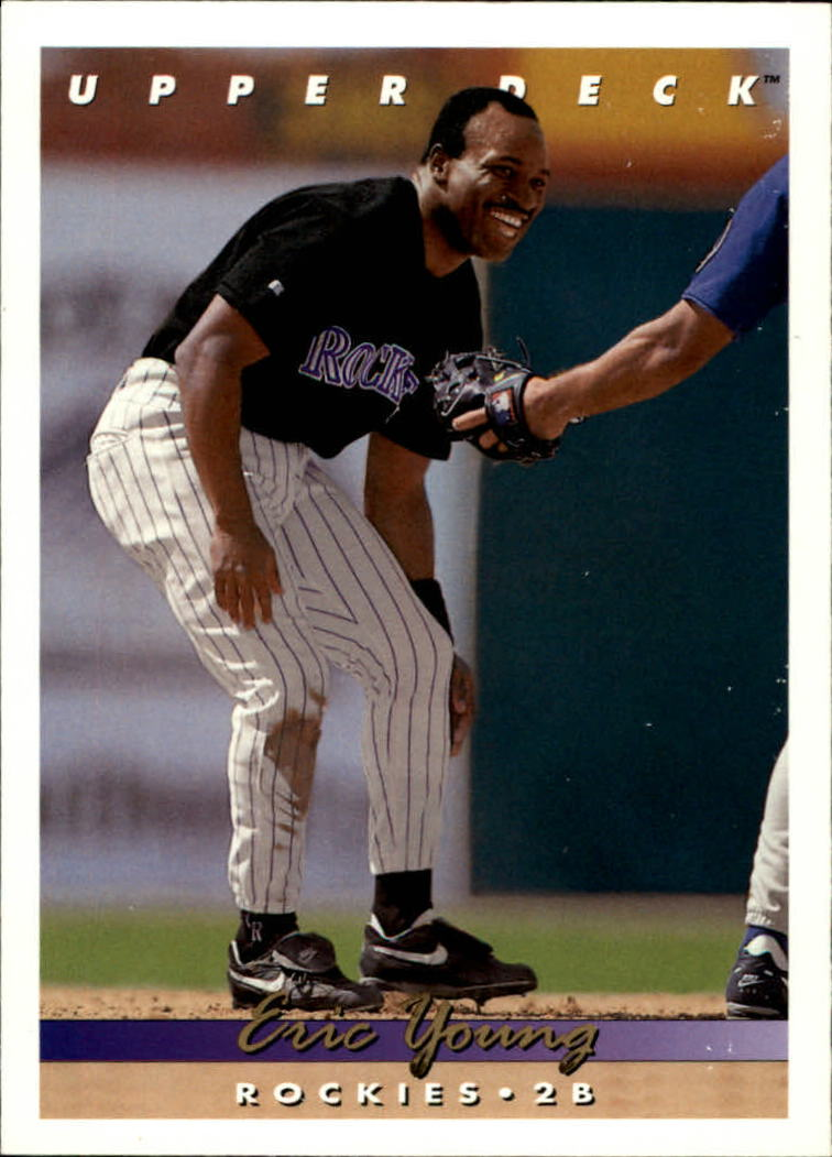 1993 Upper Deck #521 Eric Young