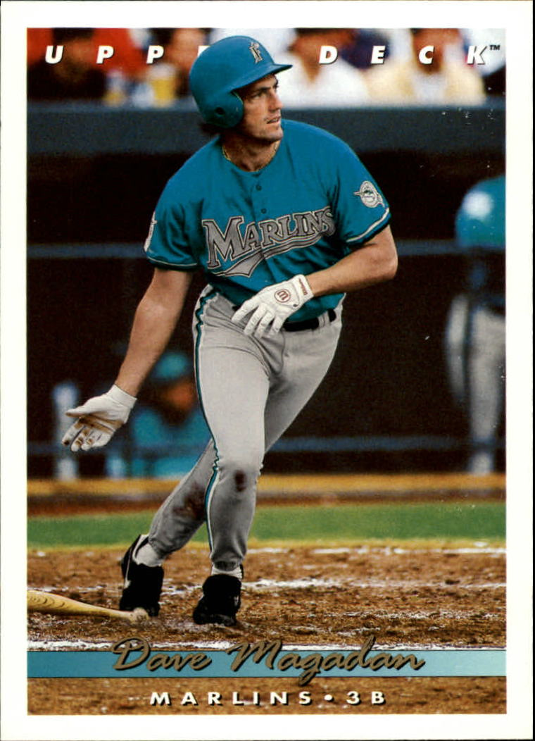 1993 Upper Deck #528 Dave Magadan