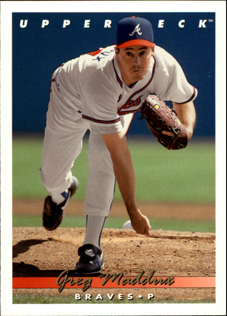 1993 Upper Deck #535 Greg Maddux