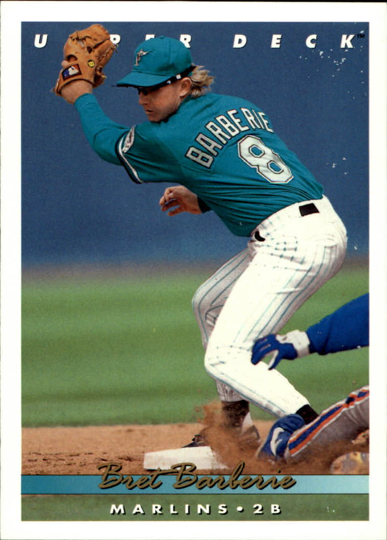 1993 Upper Deck #552 Bret Barberie