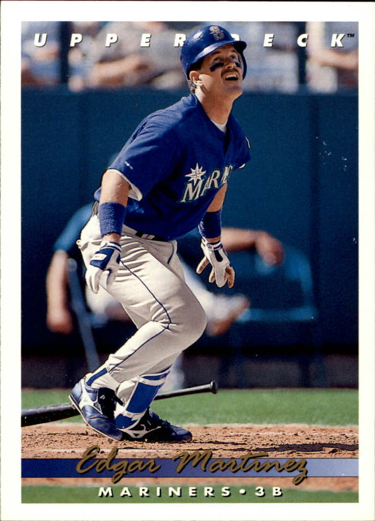 1993 Upper Deck #553 Edgar Martinez