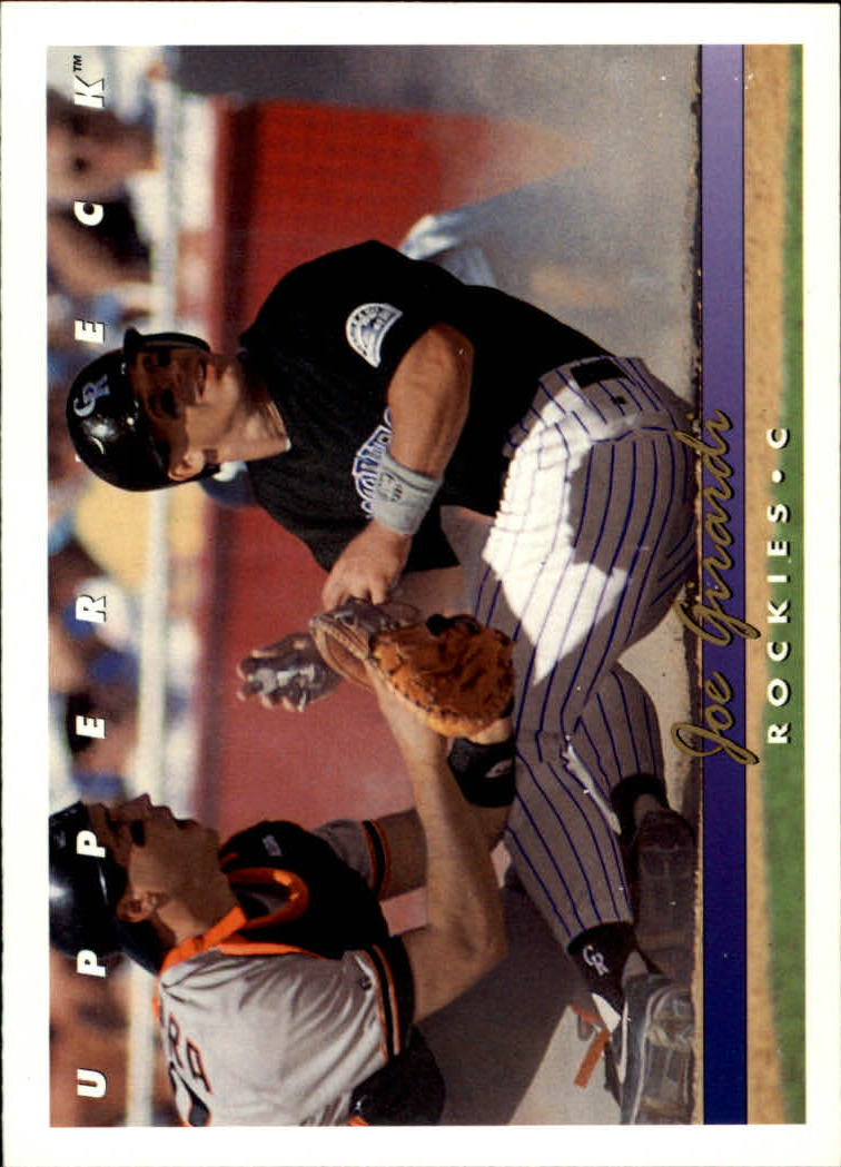 1993 Upper Deck #571 Joe Girardi