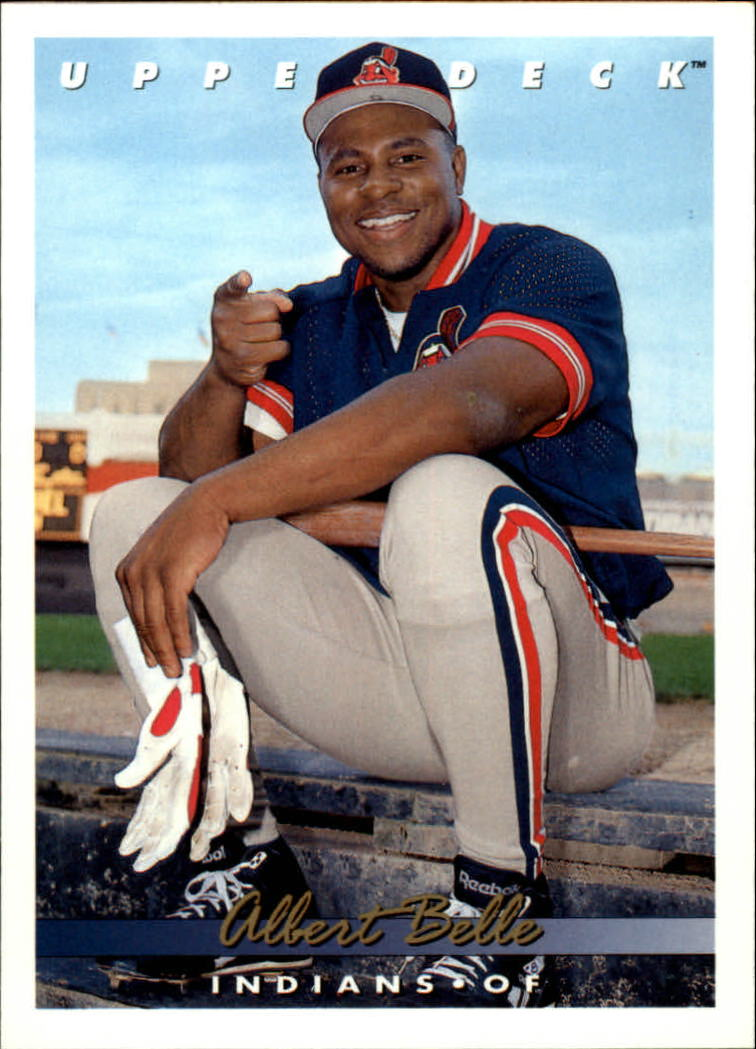 1993 Upper Deck #586 Albert Belle
