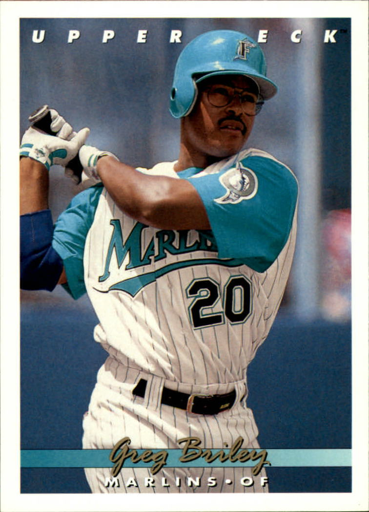 1993 Upper Deck #634 Greg Briley