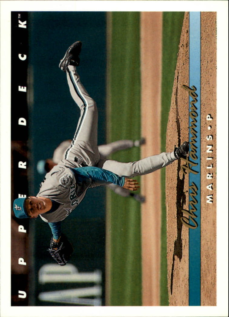 1993 Upper Deck #661 Chris Hammond